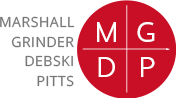 The Law Offices of Marshall Grinder Debski Pitts Logo